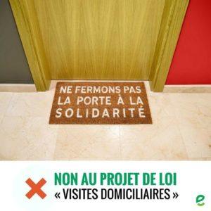 Visites domiciliaires : Intervention de notre conseillère Mélanie Bertrand lors du conseil communal du 27 février 2018